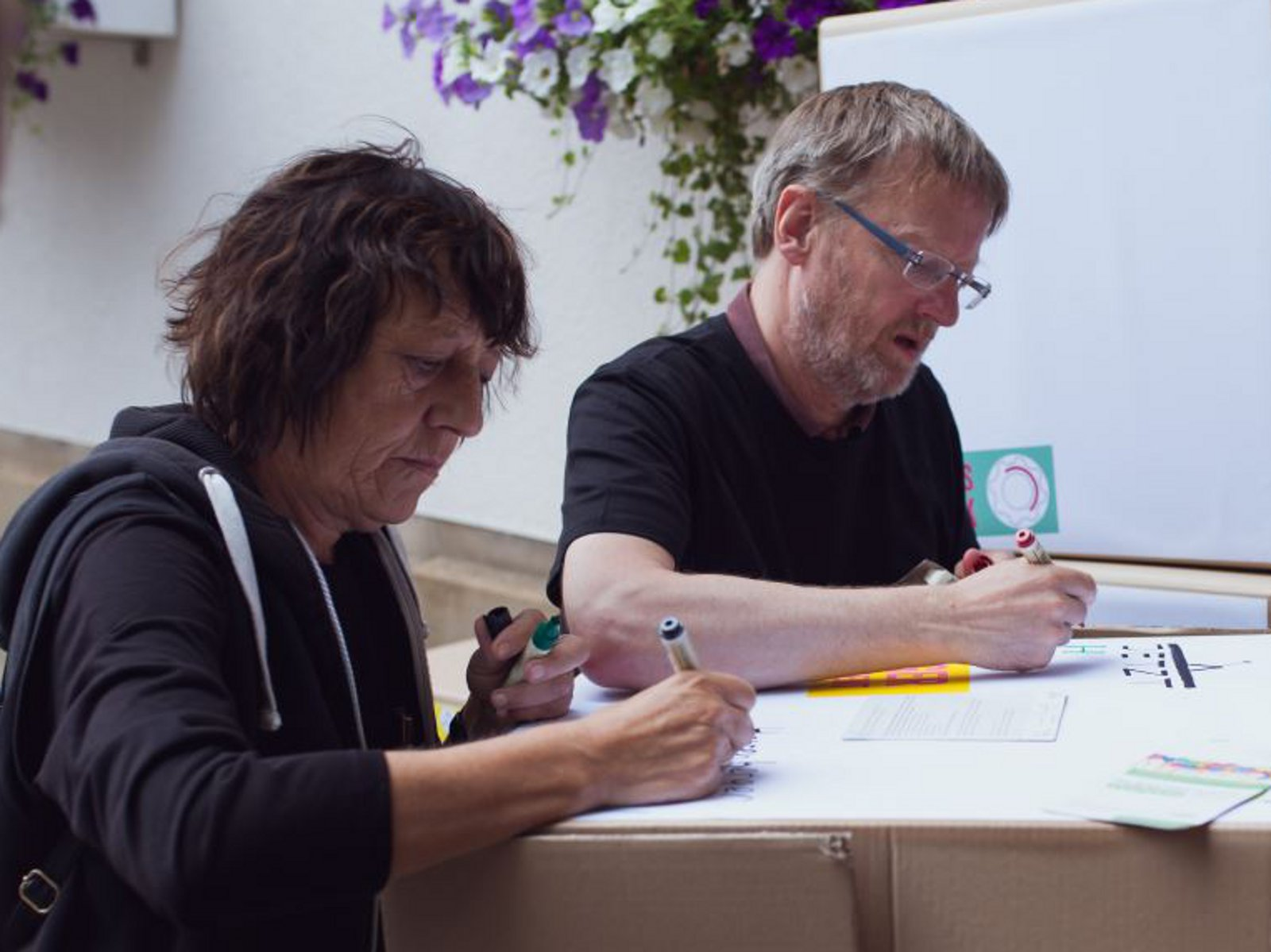 Bärbel Bolay und Bärbel Christian Dziobek sind die ehrenamtlichen Koordinatoren des Projektepools