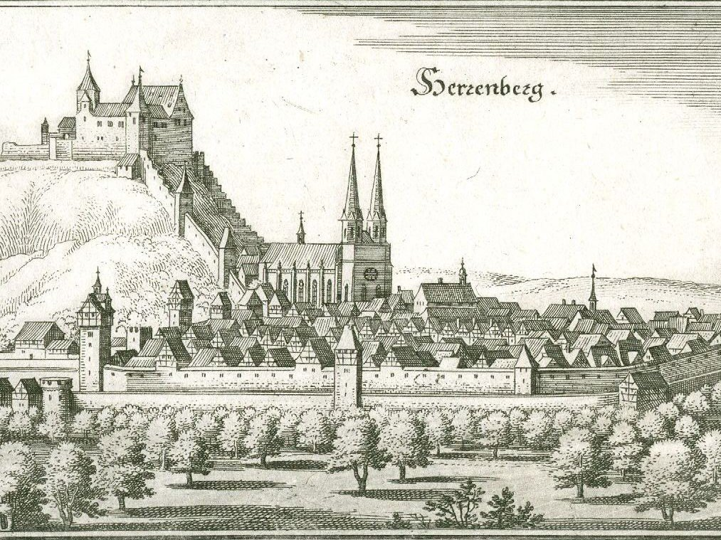 Historische Stadtansicht von Herrenberg