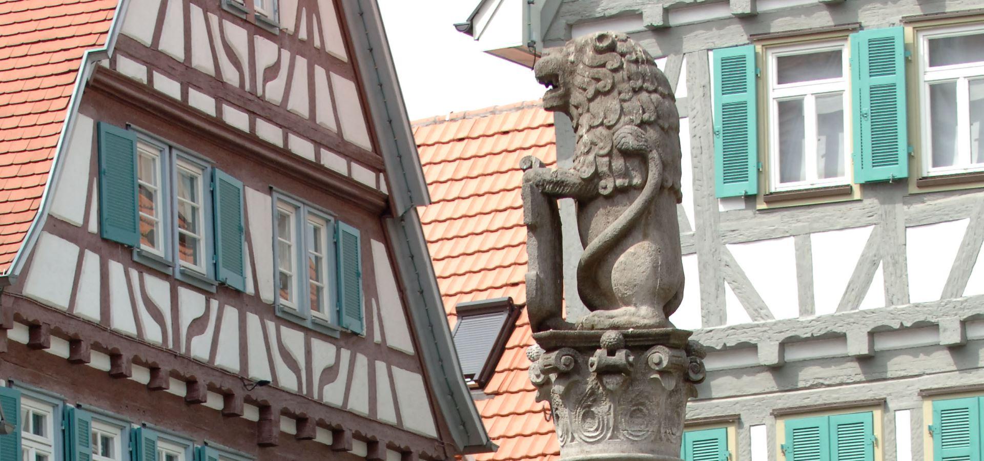 Brunnen Marktplatz