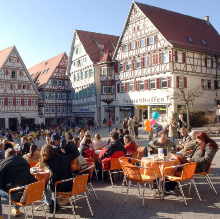 Café am Herrenberger Marktplatz