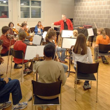 Musizierende in der Musikschule Herrenberg