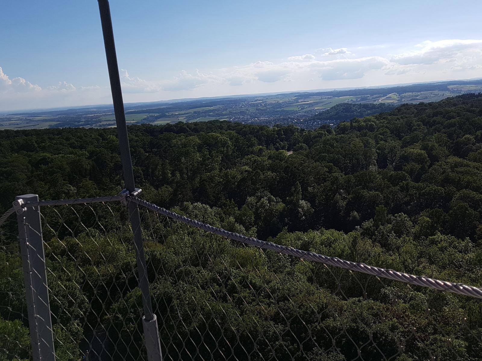 Blick vom Schönbuchturm