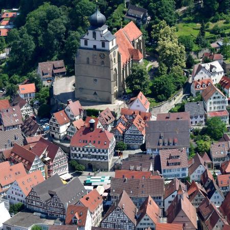Luftbild Altstadt