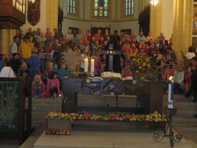 Lange Nacht der Kulturen - Singprojekt für Jung und Alt in der Stiftskirche
