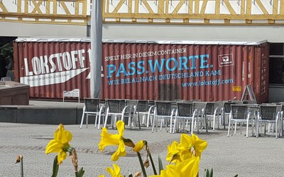 Lokstoff Theater im Container - der Container