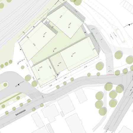 Bahnhofstrasse Lageplan