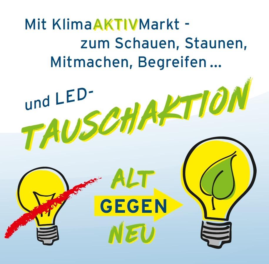 LED Tauschaktion Energietag 2018