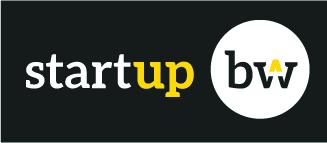 Logo startup bw