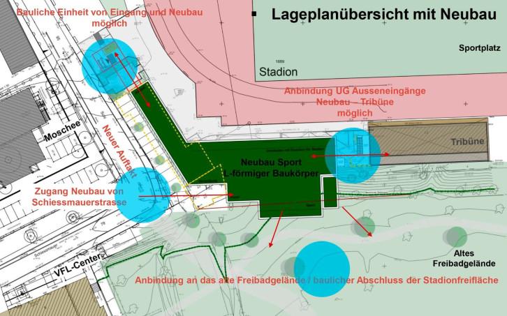Der VfL Herrenberg plant einen Neubau am Stadion in der Herrenberger Innenstadt.