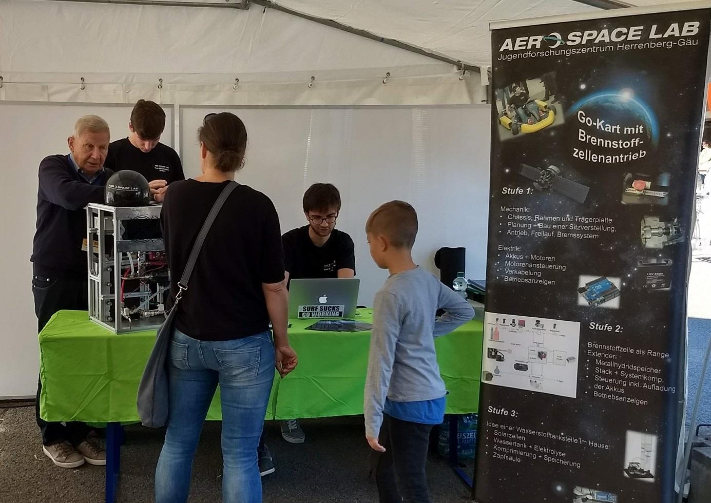 aerospace lab beim KlimaAKTIV Markt 2018