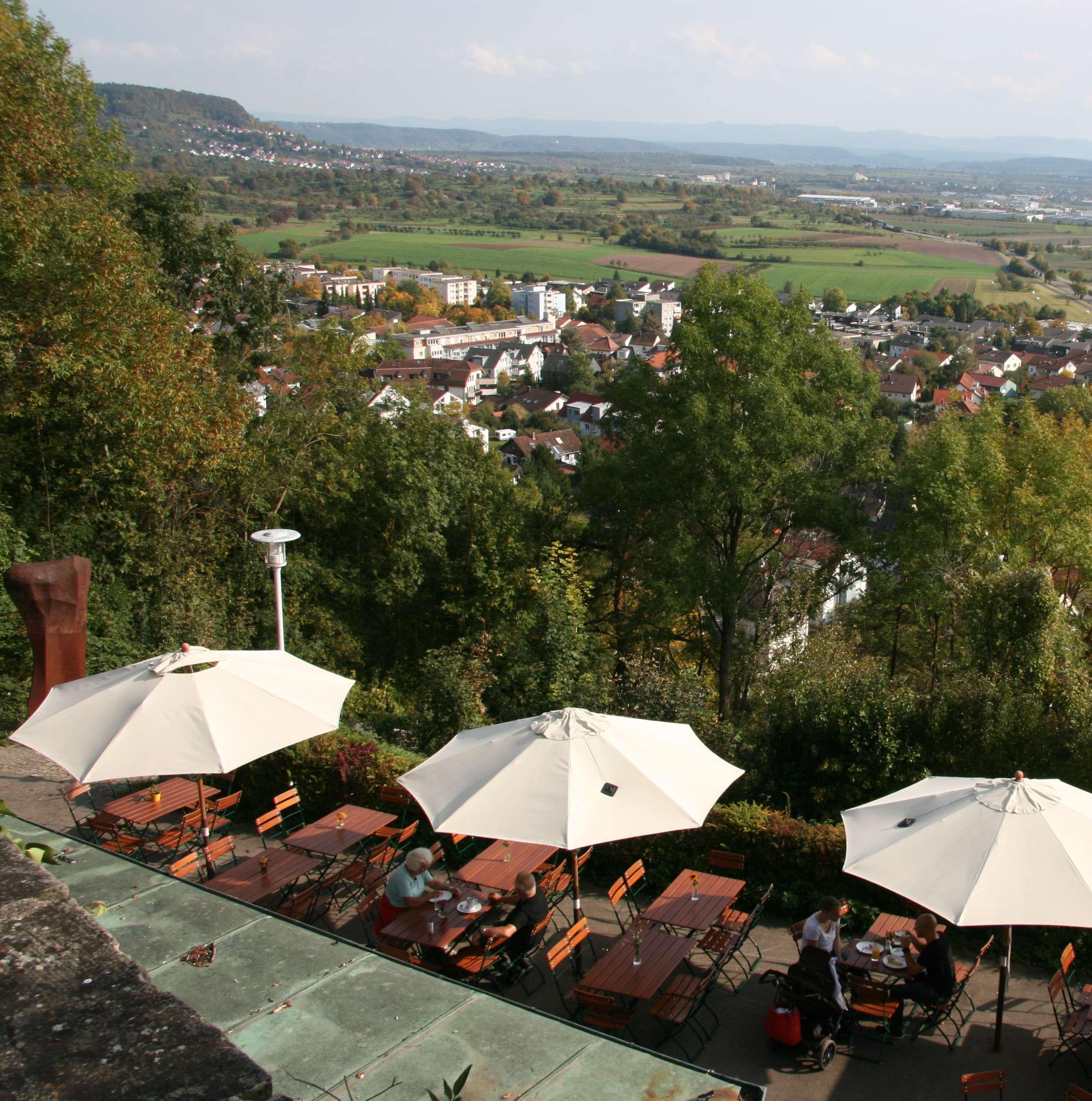 Panoramaterrasse auf dem Schlossberg