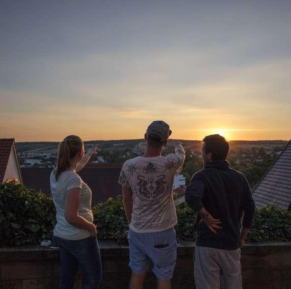 Sonnenuntergang _Herrenberg
