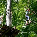 Herrenberg Waldseilgarten Mädchen-Aktionstag / Foto: Holom