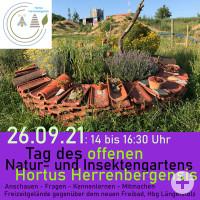 Einladungsbild Tag der offenen Tür - Hortus Herrenbergensis