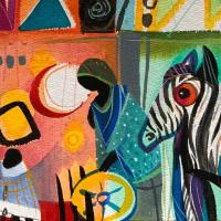 Sabine Waldmann-Brun: Alle Farben - Afrika! - Ausstellung in der Galerie im Kulturzentrum