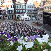 """Kunst, Musik und Theater präsentieren sich unter dem Motto """"Altstadt und Kultur pur""""."""