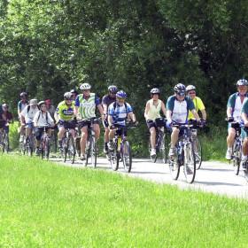 Radfahrer in Herrenberg