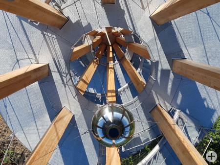 Schönbuchturm - Blick nach unten