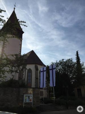 Kirche mit Turm