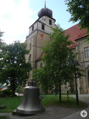 Südseite der Stiftskirche