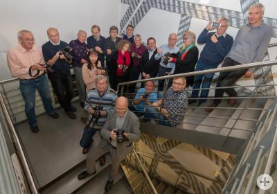 Mitglieder des Fotoclub Objektiv Herrenberg