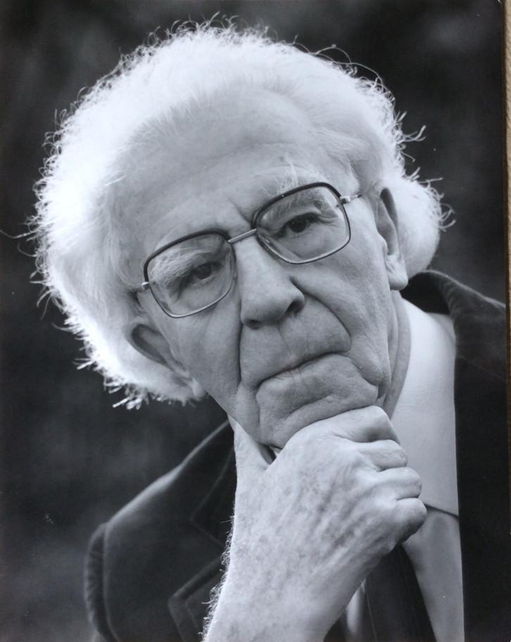 Porträtfoto vom Künstler Karl Kühnle