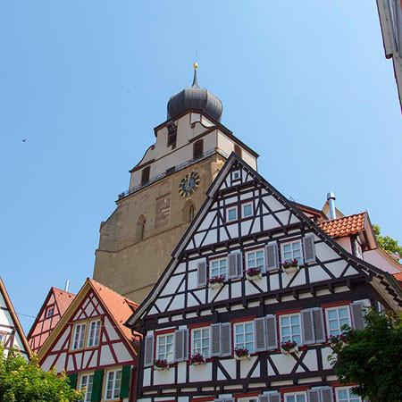 Blick über Herrenberg