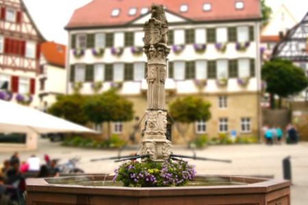 Marktbrunnen in Herrenberg