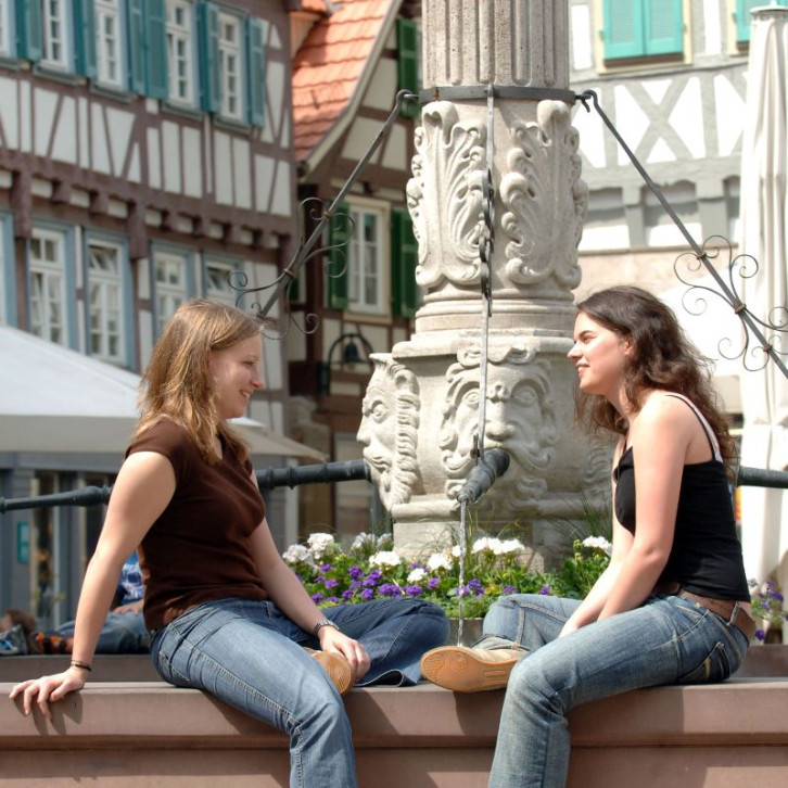 Marktplatzbrunnen in Herrenberg