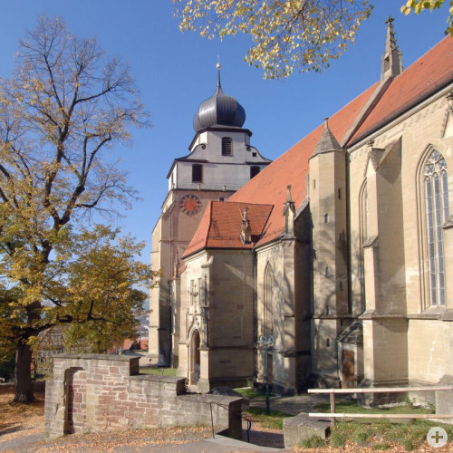 Die Stiftskirche Herrenberg