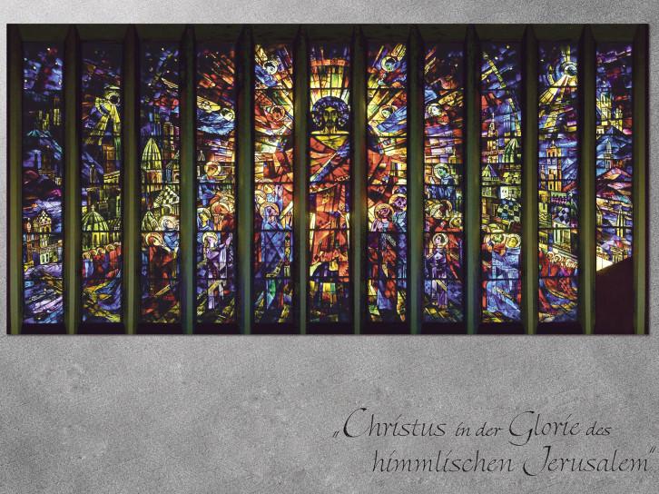 Chorfenster von Professor Albert Birkle