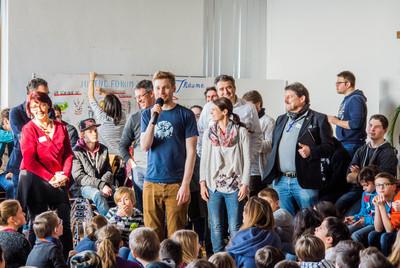Jugenforum - Eine Projektgruppe berichtet von ihren Ergebnissen