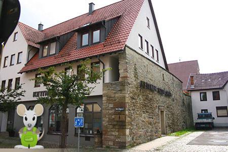 ehemalige Badstube in Herrenberg