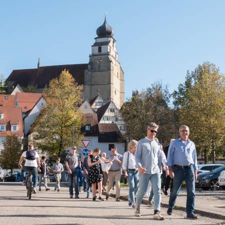Stadtspaziergang Herbstschau 2018