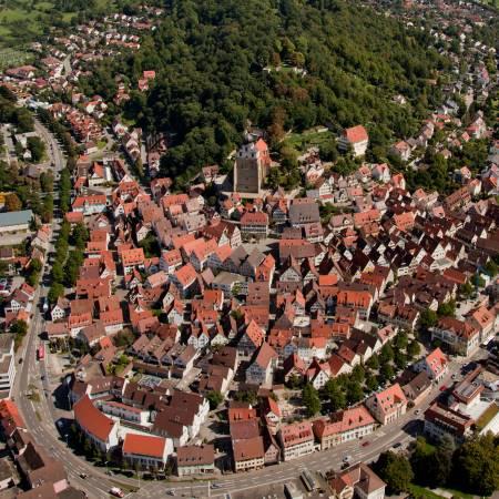 Luftbild Stadt Herrenberg