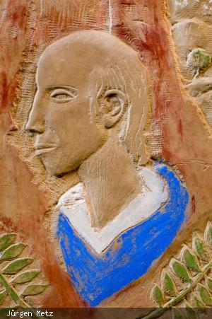 Sandsteintafel von Hans Daniel Sailer