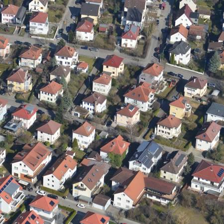 Luftbild Herrenberg-Alzental