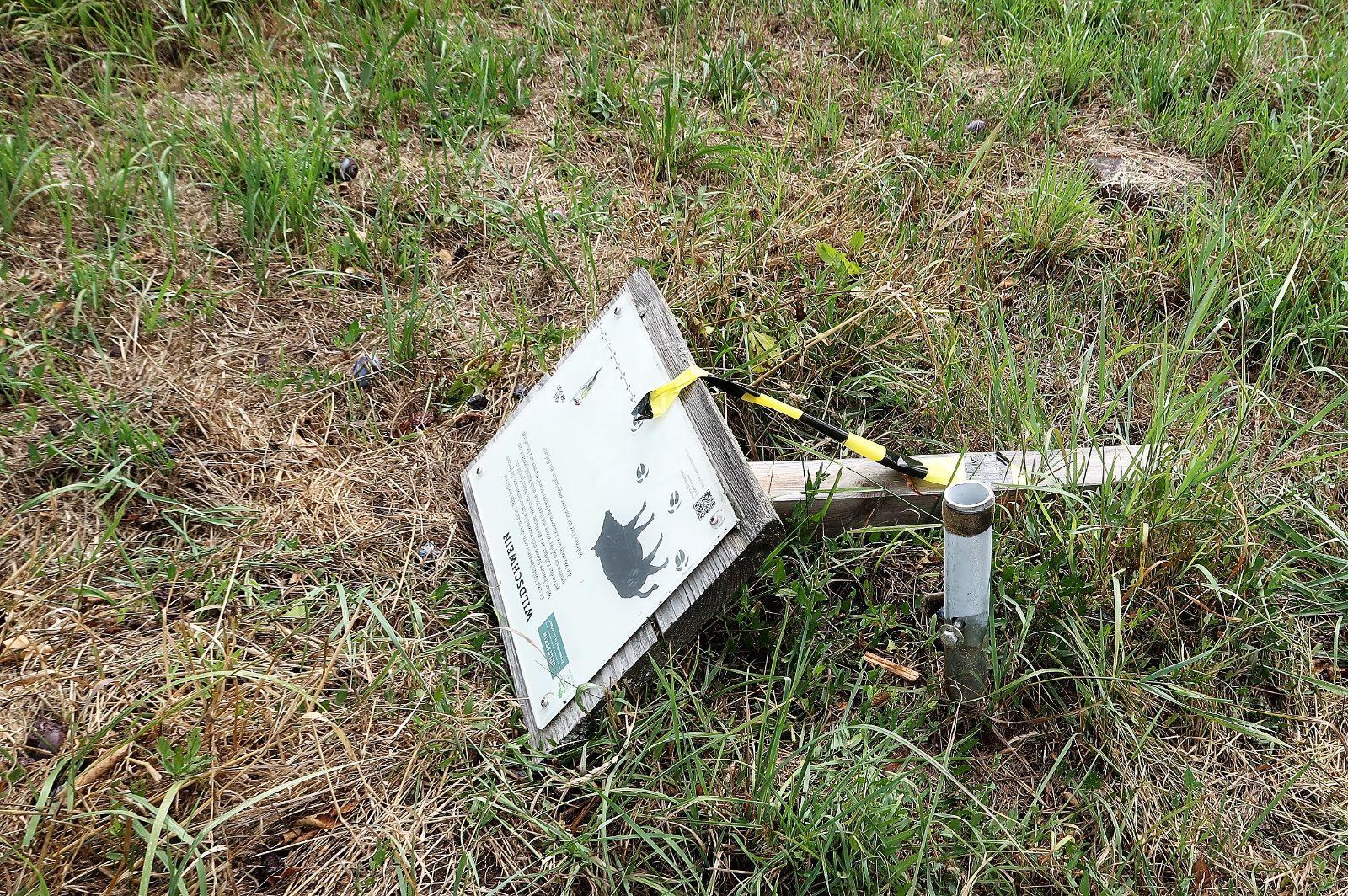PM 246: Tafeln in Gültstein zerstört