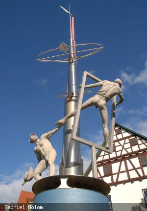 Jerg Ratgeb_ Skulpturenpfad_Station7_Lenk