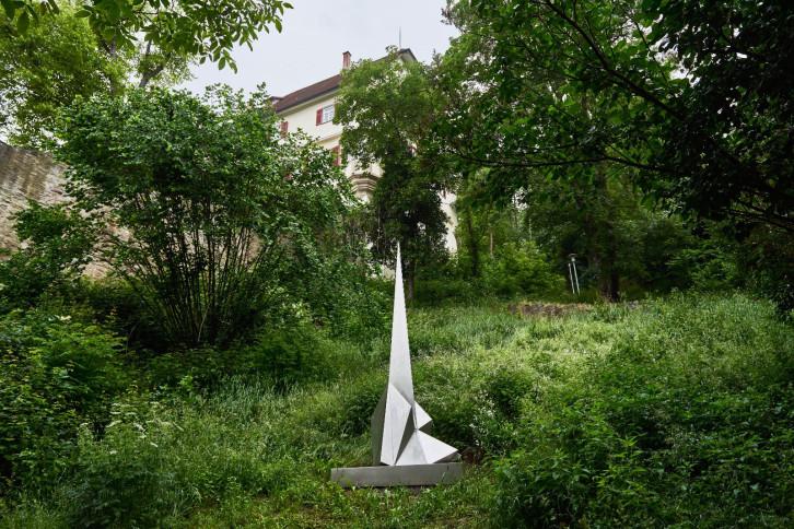 Stahlskulptur von Erich Hauser