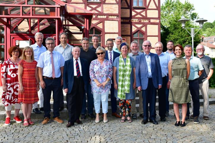 Gemeinderat 2014-2019_geehrte Gemeinderäte / Foto: Holom