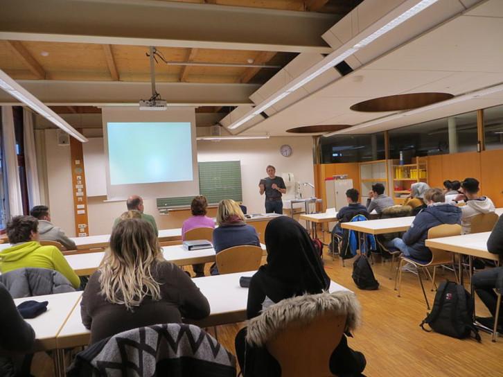 Teilnehmer*innen beim 11. Gedichte-Projekt