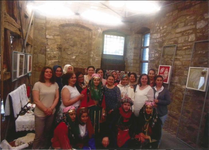 Ausstellung Traditionelles Kunsthandwerk türkischer Frauen