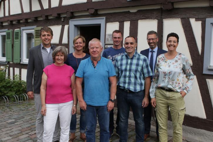 Ortschaftsrat Affstaett neu 2019