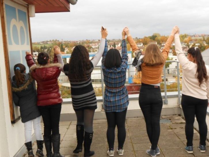 Teilnehmerinnen am Mädchentreff