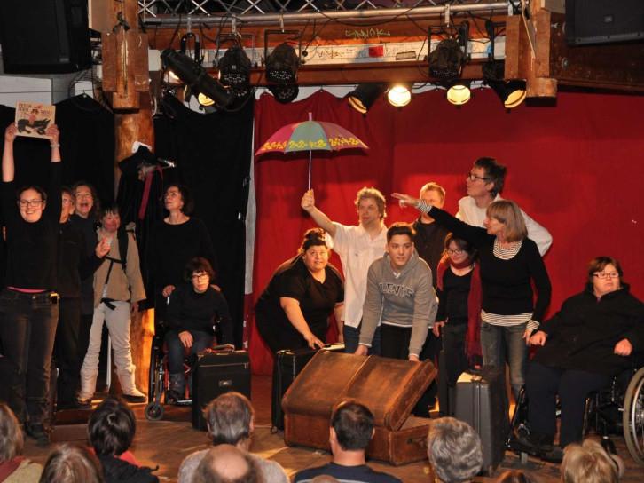 Aufführung des inklusiven Theaterprojekts Herrenberg