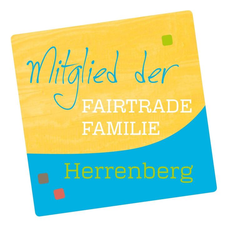 Logo der Fairtrade-Familie, Herrenberg