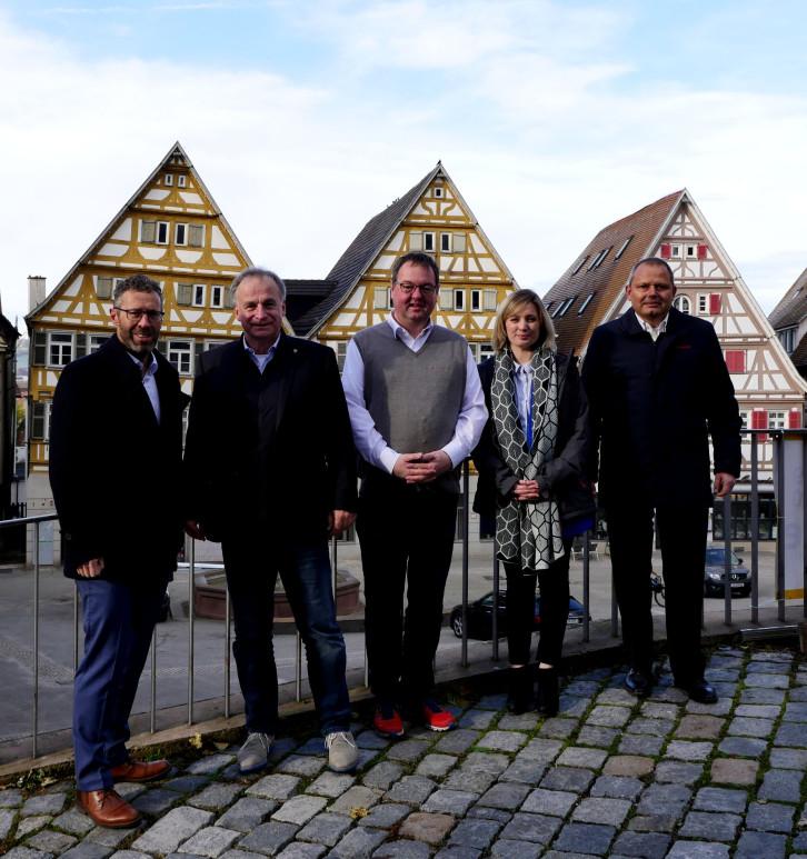 CIO des Landes zu Besuch in Herrenberg