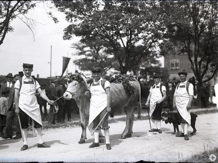 Festumzug 1929 - Foto von Julius Krayl junior