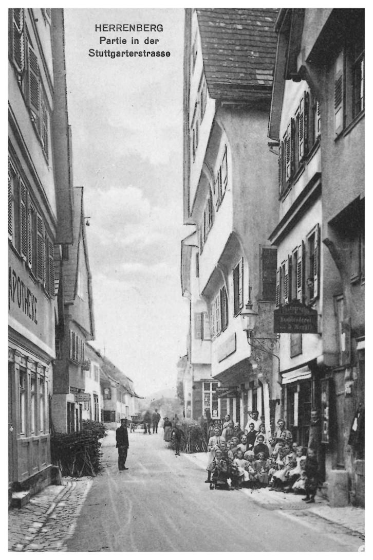 Fotoatelier, Buchbinderei und Wohnhaus Krayl in der Stuttgarter Straße 16